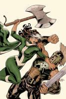 X-Men Legacy 227 Cover by TerryDodson