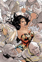 Wonder Woman 14 Cover Final by TerryDodson