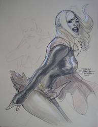 Supergirl San Diego 2010 by TerryDodson