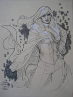 Emma Frost 002 San Diego 2010 by TerryDodson
