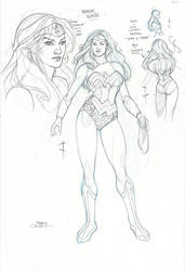 Wonder Woman Toy Design by TerryDodson