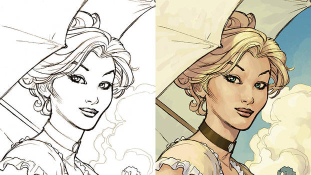 Songes Coraline Cover Detail by TerryDodson