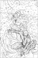 X-Men 8 Cover Pencils by TerryDodson