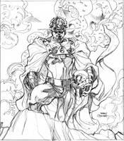 Marvel FEAR Promo Pencils by TerryDodson