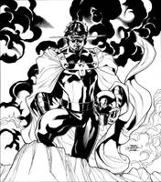 Marvel FEAR Promo Inks by TerryDodson