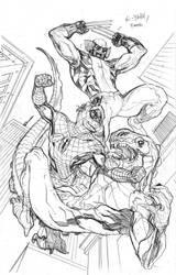 X-Men 10 Cover Pencils by TerryDodson