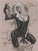 Black Cat 2 ECCC 2011 by TerryDodson
