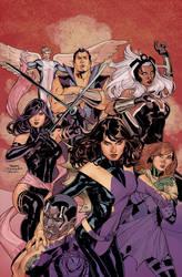 Uncanny X-Men 538 Color WIP by TerryDodson