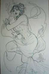 Art Nouveau Wonder Woman Kapow! 2012 by TerryDodson