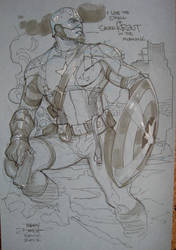 Captain America SDCC 2012 by TerryDodson