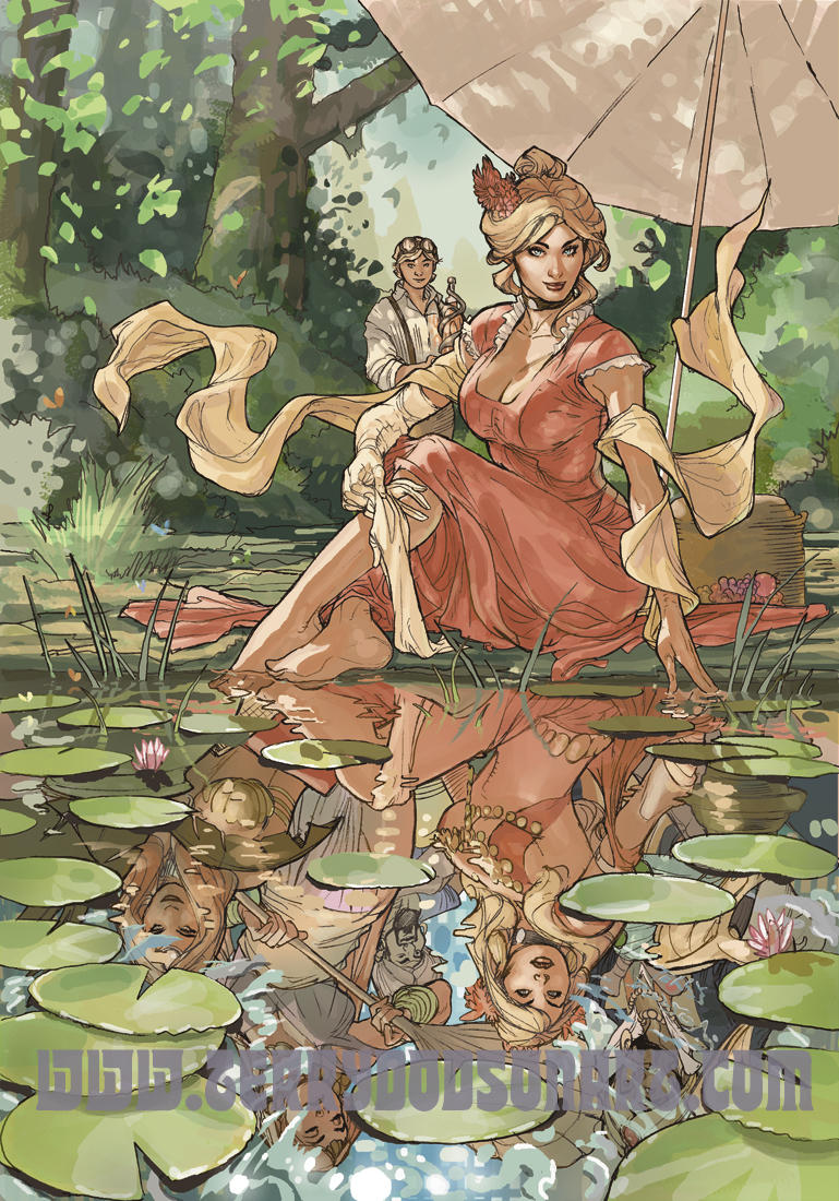 Songes Tome 2 Celia Cover Art by TerryDodson