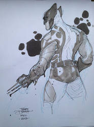 WOLVERINE NYCC 2012 by TerryDodson