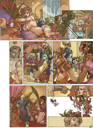 Songes Tome 2 Page 29 Color Terrydodson by TerryDodson