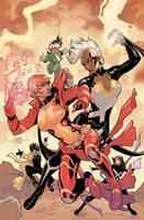 X-Men #5 Variant Cover Color by TerryDodson