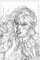 X-Men #6 Variant Cover Pencil by TerryDodson