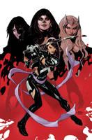 X-MEN 9 COVER by TerryDodson