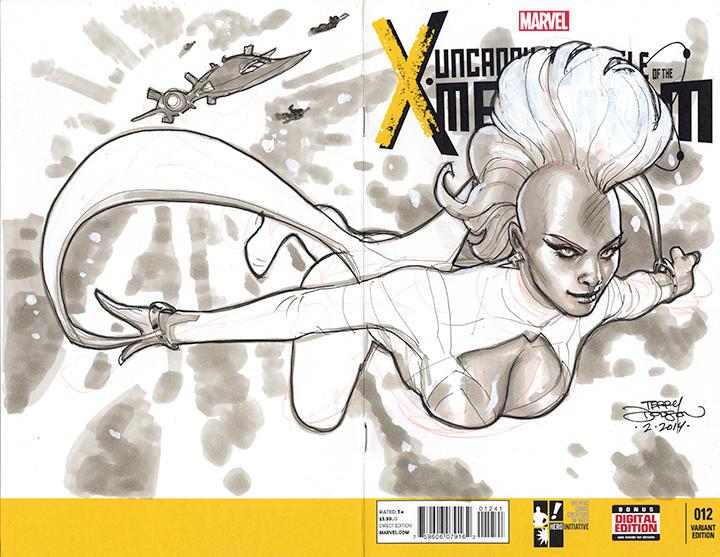 STORM X-Men 100 Project by TerryDodson