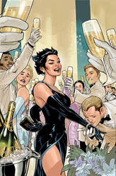 CATWOMAN 29 Cover Final by TerryDodson