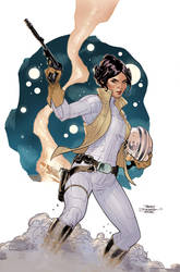 Princess Leia #1 Cover by TerryDodson