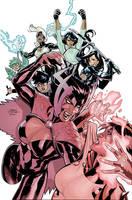 X-Men 22 Cover by TerryDodson