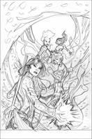 X-Men 23 Cover Pencils by TerryDodson
