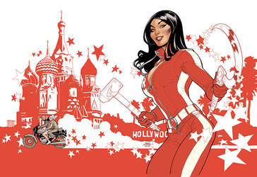 RED ONE Book 1 Cover by TerryDodson