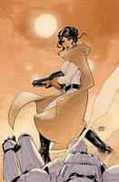 Star Wars: Princess Leia #5 Cover by TerryDodson