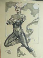 Captain Marvel SDCC 2015 by TerryDodson