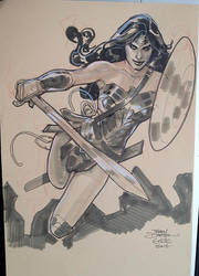 Wonder Woman 2 ECCC 2016 by TerryDodson