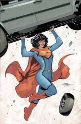 SuperWoman 1 Cover by TerryDodson