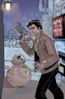 Star Wars: Poe Dameron 7 Cover by TerryDodson