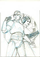 Star Wars #25 Cover Pencils by TerryDodson
