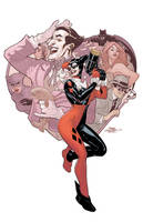 Harley Quinn Book 1 Cover by TerryDodson
