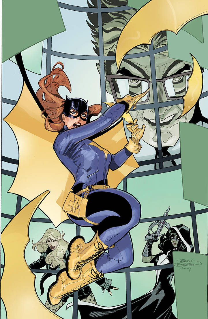 Batgirl and The Birds of Prey 19 Cover by TerryDodson