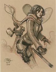 Jyn Erso from WonderCon by TerryDodson