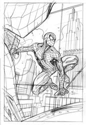 Amazing Spider-Man #800 Cover Pencils by TerryDodson