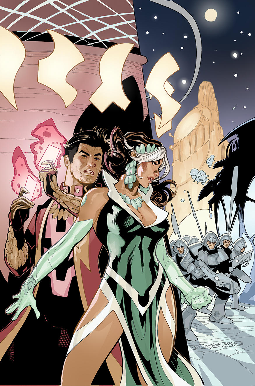 Mr. and Mrs. X #4 Cover by TerryDodson