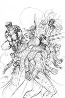 Uncanny X-Men Pencils by TerryDodson