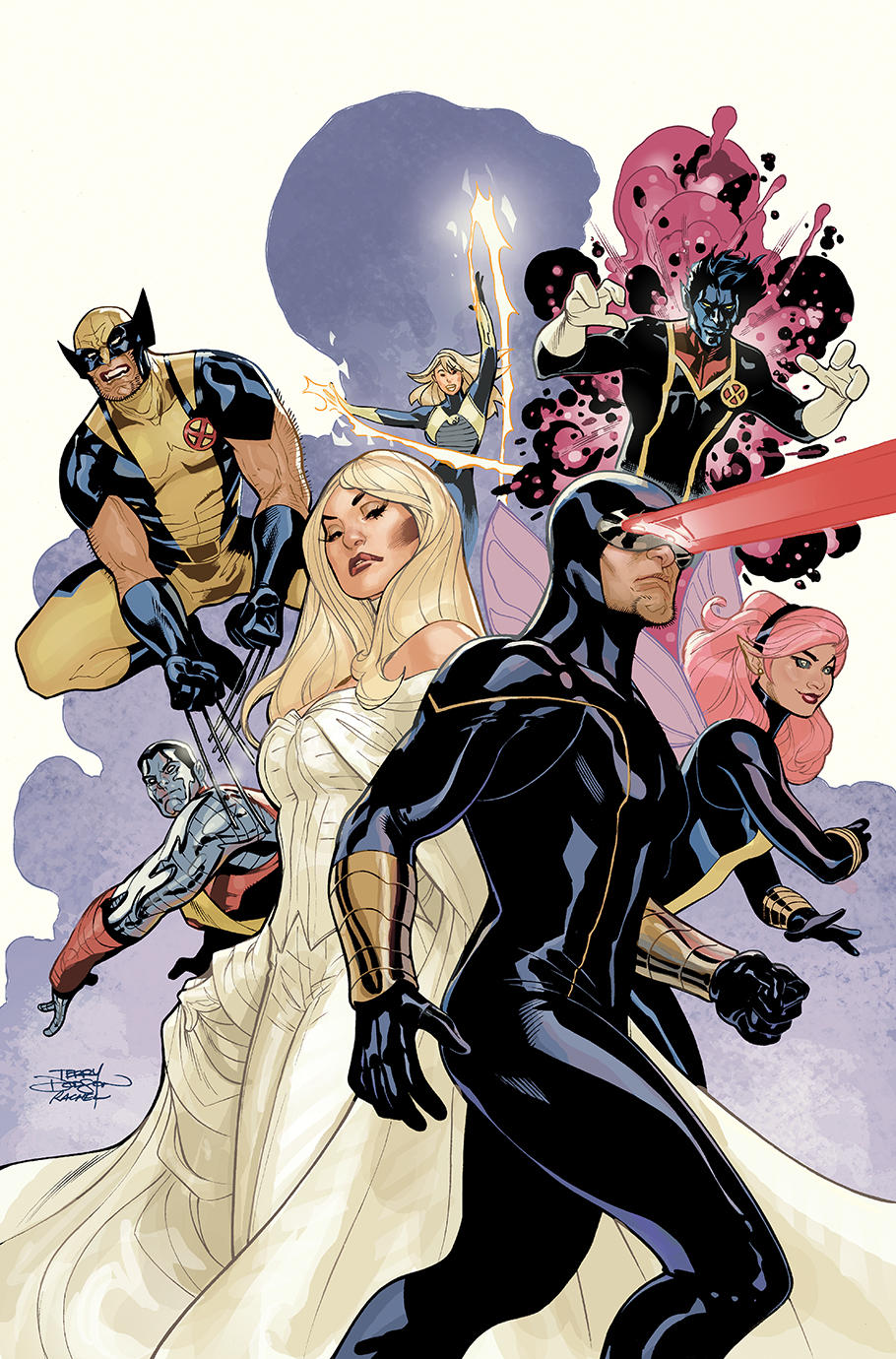Uncanny X-Men Cover by TerryDodson