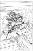 Mr. and Mrs. X 7 Cover Pencils by TerryDodson