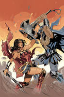Wonder Woman #62 Cover by TerryDodson