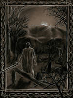 Cath Maige Tuired: Arrival of Lugh by SaxonwithAxe
