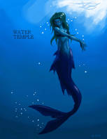 Valerie -Water Temple form- by CloudsGirl7