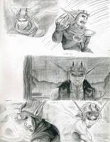 Dark Jak practice -various- by CloudsGirl7