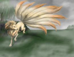 No. 038- Ninetales by CloudsGirl7