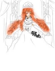 King of spades WIP by 13clorinda