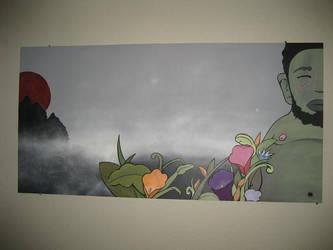 Wall piece by tkfoshori