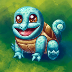Cute Beasts #1 - Squirtle by LisicaC