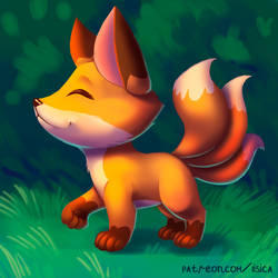 Cute Beasts #2 - Kitsune by LisicaC