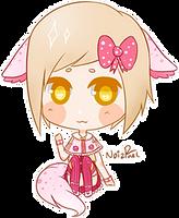 Mini Chibi: Wrenn Sylver by NoizRnel